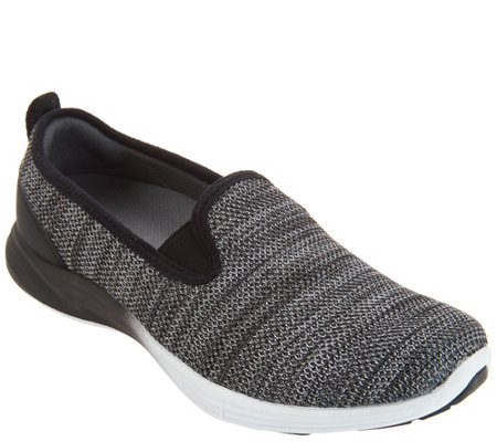 Vionic Flat-knit Slip-On Shoes - Delaney