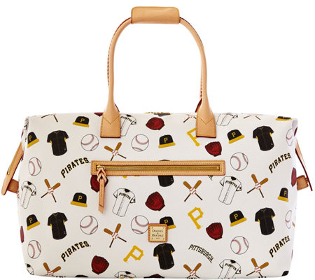 """As Is"" Dooney & Bourke MLB Pirates Duffel Bag"