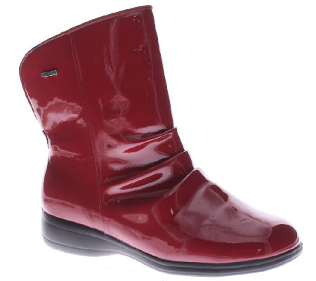 Flexus by Spring Step Rain Boots - Candy Apple