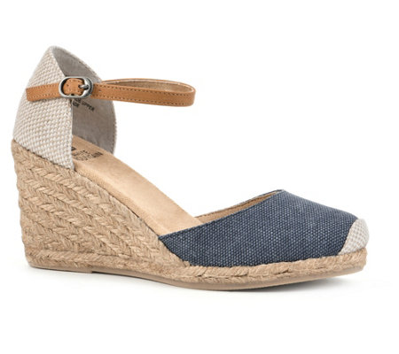 Heritage by White Mountain Espadrille Wedge Sandals - Mamba