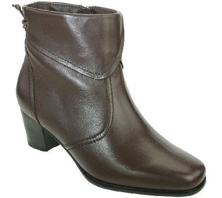 David Tate Leather Ankle Boots - Hilda