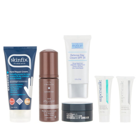 QVC Beauty Sandra's Favorites 6-Piece Collection