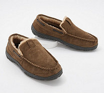 Clarks Suede Men's Venician Moccasin Slippers - A345001