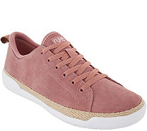 Ryka Suede Lace-Up Sneakers - Olyssia - A347801