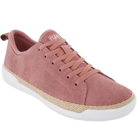 Ryka Suede Lace-Up Sneakers - Olyssia