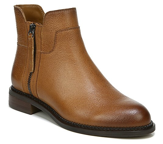 Franco Sarto Casual Leather Booties - Halford