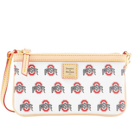 Dooney & Bourke NCAA Ohio State University Slim Wristlet