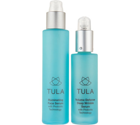 TULA by Dr. Raj Probiotic Day & Night Treatment Serum 2-Piece Set