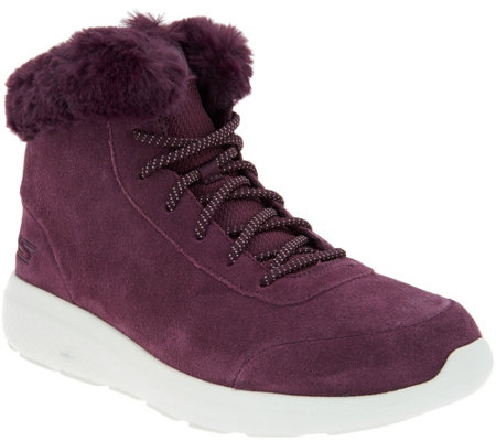Skechers On the GO Suede Boots City 2 Chilled —
