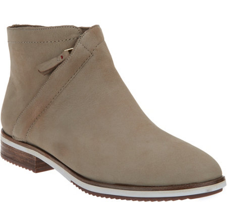 ED Ellen DeGeneres Leather Ankle Boots - Zaina