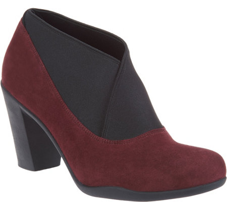 """As Is"" Clarks Artisan Leather or Suede Shooties-Adya Luna"