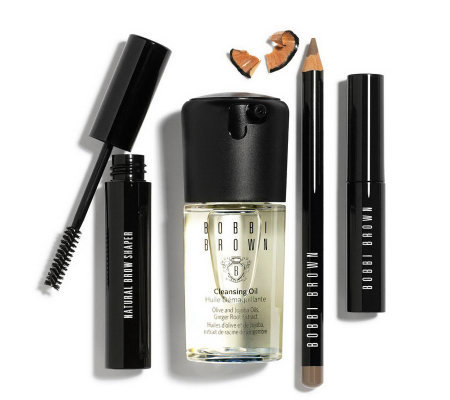 Bobbi Brown 4-pc Brown Brow Kit