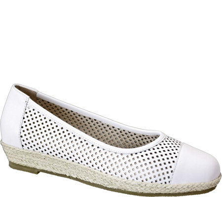 David Tate Leather Flats - Nadine