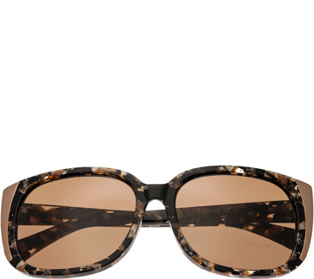 Bertha Natalia Multicolor Sunglasses w/ Brown Polarized Lense