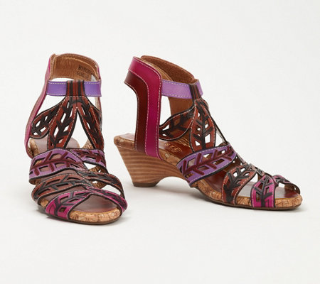 L'Artiste by Spring Step Leather Sandals - Bohochic
