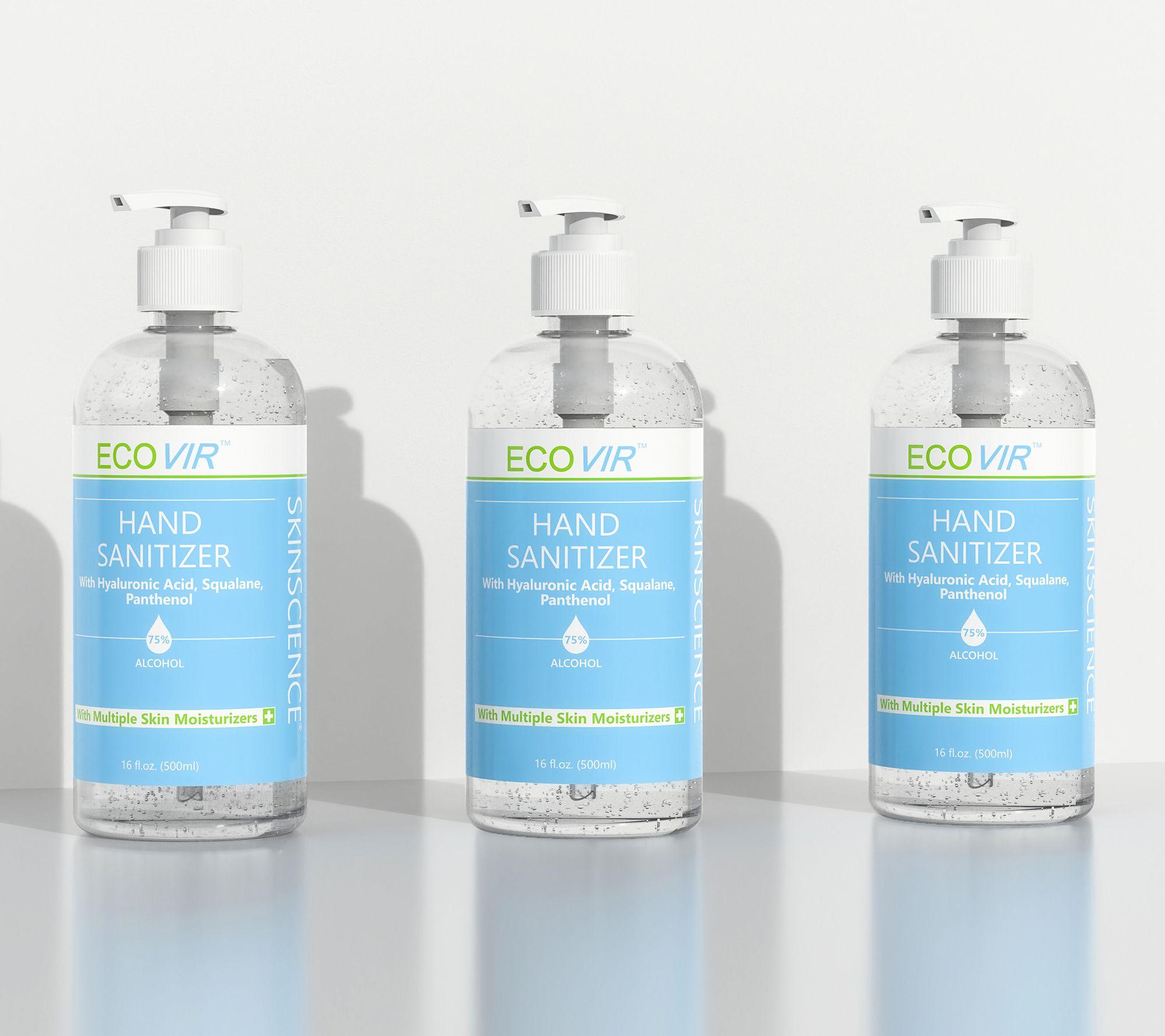 Hydrating hand sanitizer