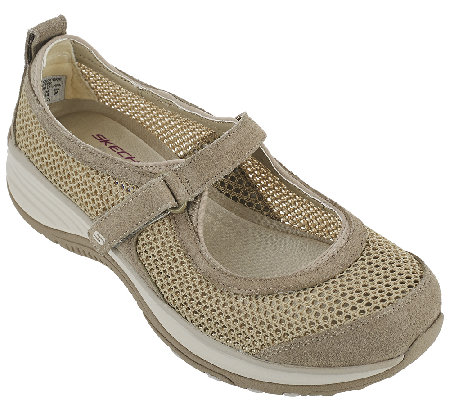 Skechers Suede   Mesh Relaxed Fit Mary Janes - Intergalatic - Page 1 ... 1c662af2769c