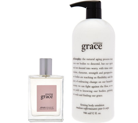 philosophy amazing grace or baby grace fragrance duo