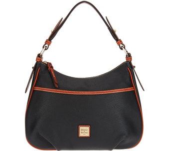 62d878ef86da Dooney   Bourke Pebble Leather East West Collins Shoulder Bag - A300503