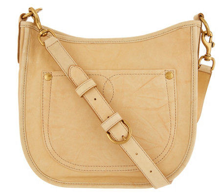Frye Leather Campus Rivet Crossbody Bag