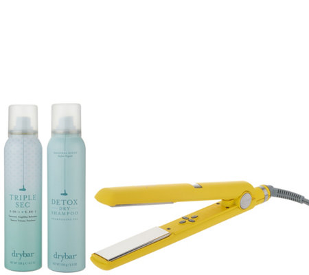 Drybar Tress Press with Detox Dry Shampoo and Triple Sec