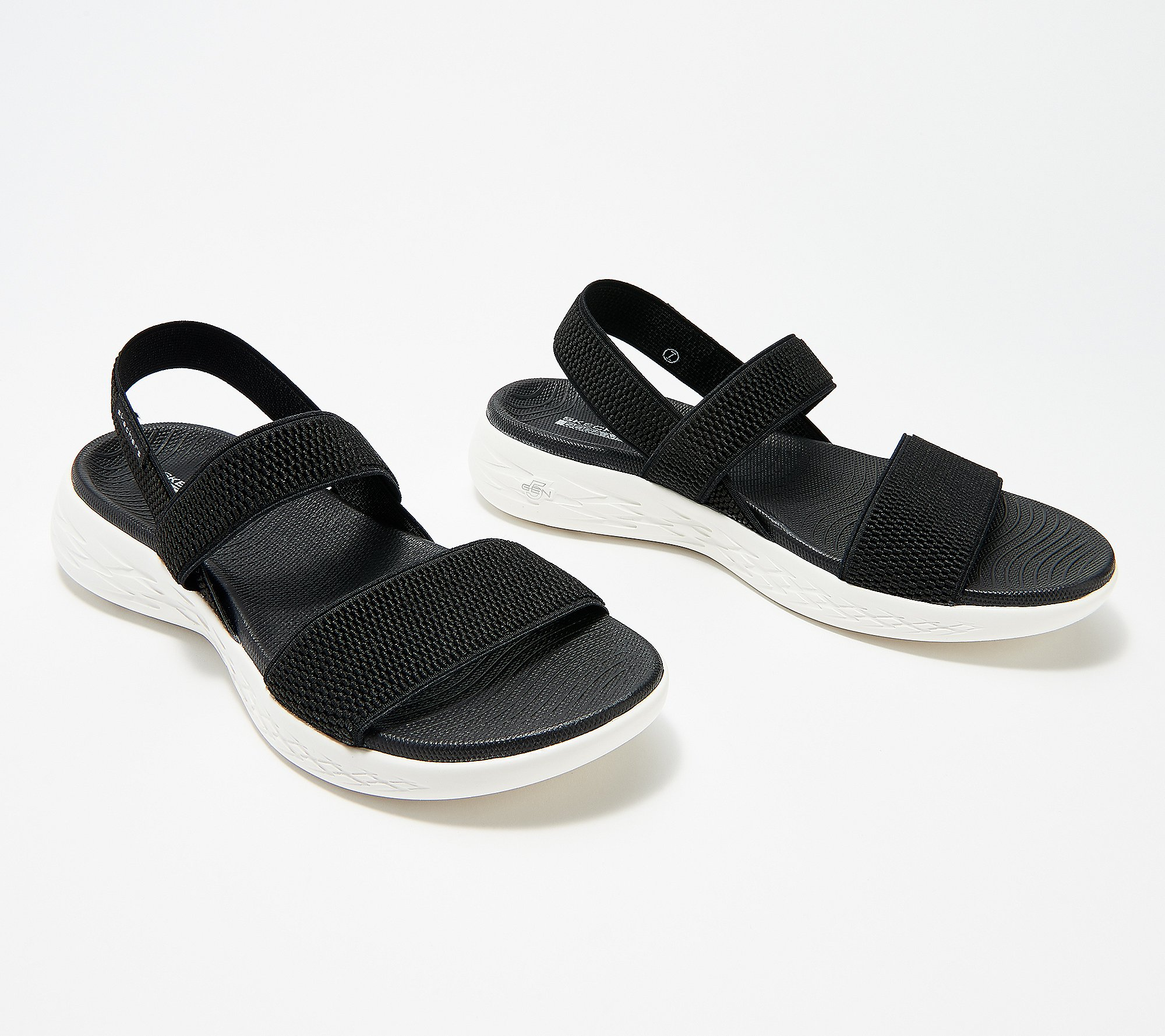 Skechers On The Go Gore Back Strap Sandals Flawless Qvc Com