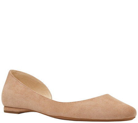 Nine West Leather Flats - Spruce