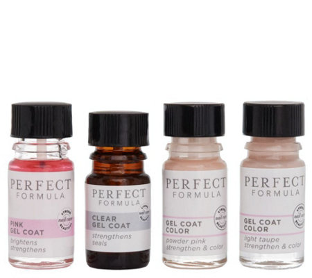 Perfect Formula Gel Coat Manicure