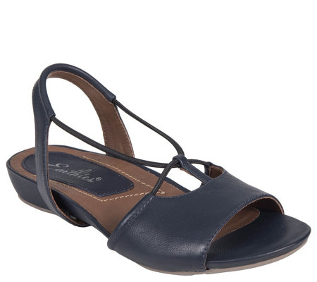 Earthies Leather Sandals - Lacona