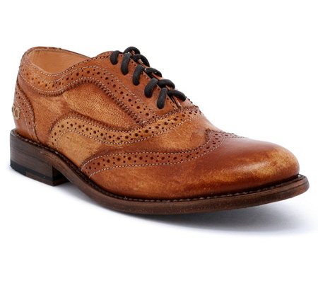 BED STU Leather Wingtip Oxfords - Lita