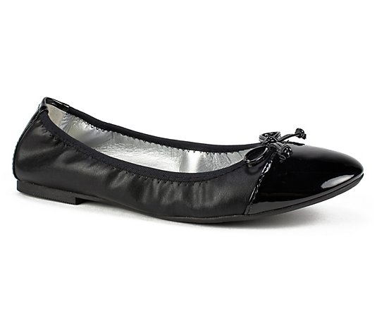 Rialto by White Mountain Pull-On Ballet Flats -Sunnyside II