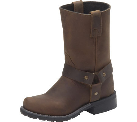 Double H Children's Ice Harness Western Boot sz11-6 — QVC.com