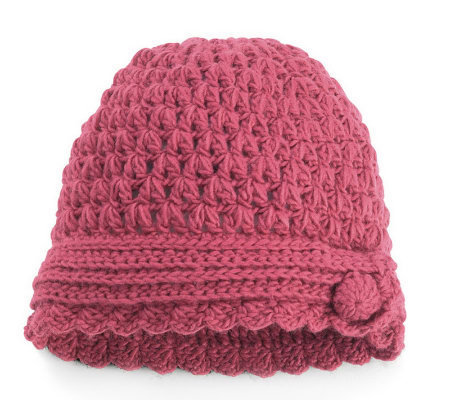 1f73bdc792c San Diego Hat Co. Women s Knit Button Beanie — QVC.com