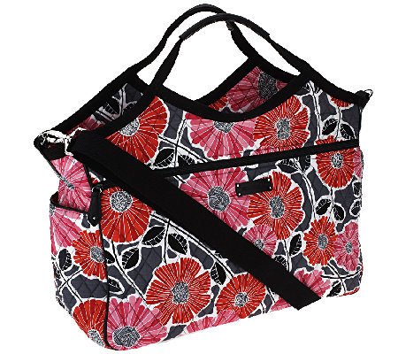 Vera Bradley Signature Print Carry All Travel Bag
