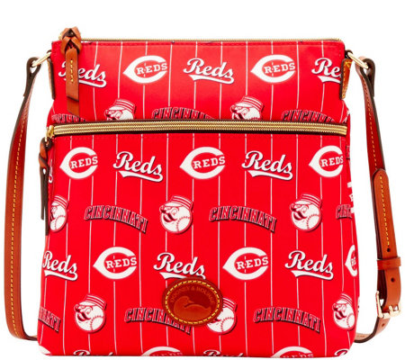 Dooney & Bourke MLB Nylon Reds Crossbody