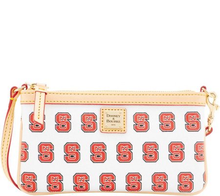 Dooney & Bourke NCAA NC State University Slim Wristlet