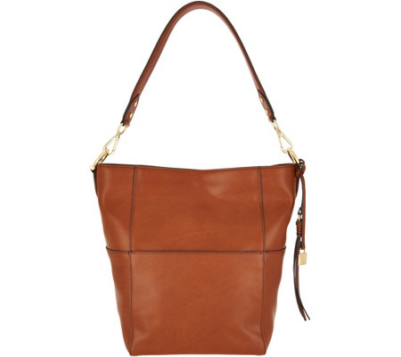 """As Is"" G.I.L.I Vachetta Leather Hobo"