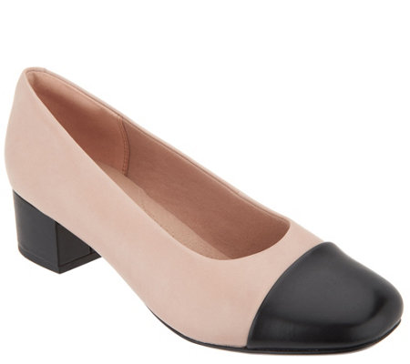 Clarks Collection Leather Pumps - Chartli Diva