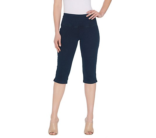 """As Is"" Women with Control Regular Tummy Control Stretch Pedal Pushers"