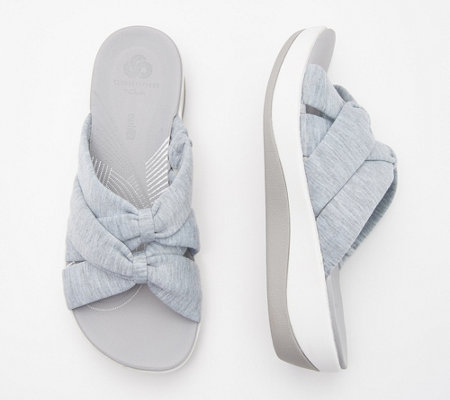 CLOUDSTEPPERS by Clarks Jersey Slide Sandals - Arla Dristi - Page 1 ...