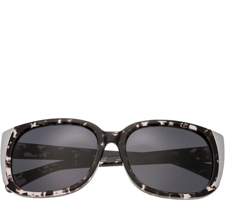 Bertha Natalia Multicolor Sunglasses w/ Black Polarized Lense