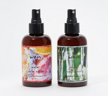 WEN by Chaz Dean Winter Replenishing Treatment Mist Set