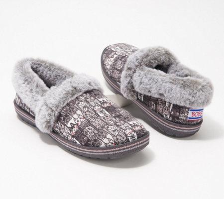 Skechers BOBs Too Cozy Slippers , Alley Cat \u2014 QVC.com