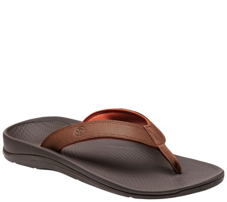 Superfeet Men's Classic Casual Flip Flops - Outside 2.0