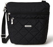 baggallini Quilted Pocket Crossbody with RFID Wristlet - A413104