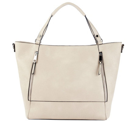 Sole Society Side Zip Large Tote - Nera Tote