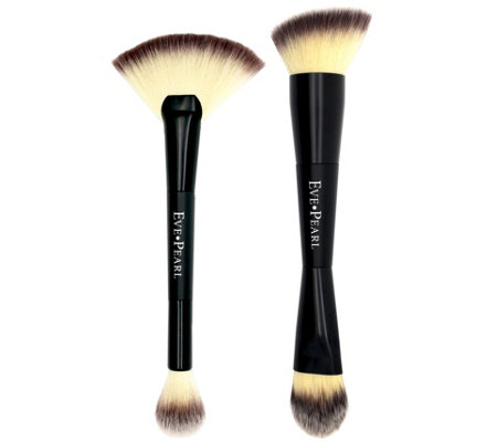 Eve Pearl Dual Brush Set