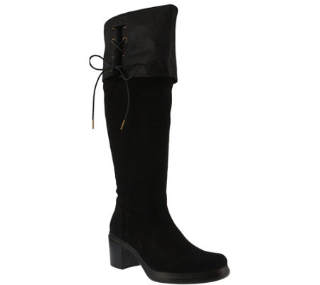 Azura by Spring Step Over-the-Knee Wide Calf Boots - Darci