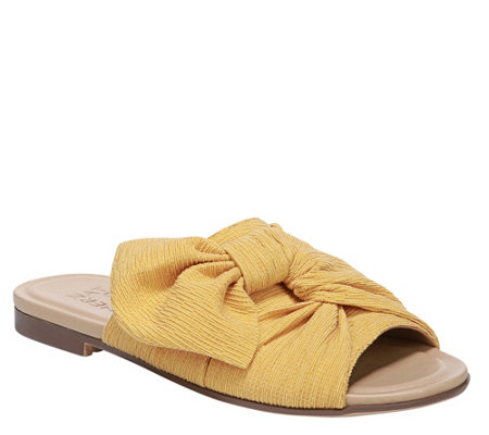 Naturalizer Knot Detail Slide Sandals Tea
