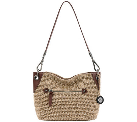 The Sak Indio Crocheted Demi Handbag